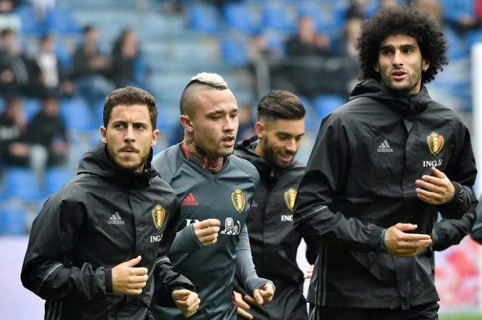 Hazard Nainggolan Fellaini Belgium