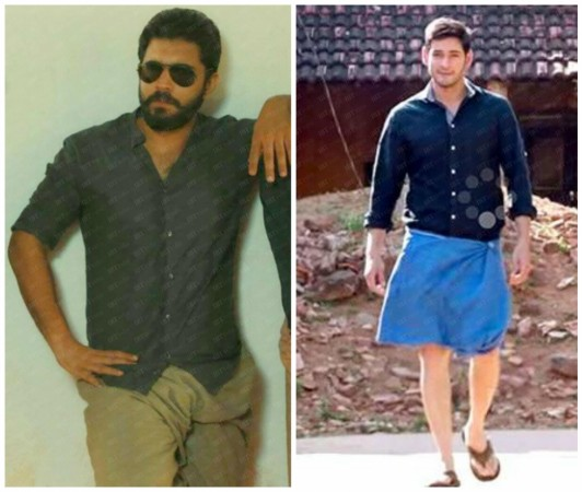 Nivin Pauly and Mahesh Babu