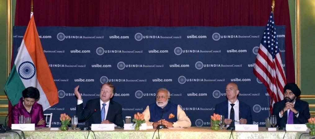 Narendra modi us visit usibc india america biz investment