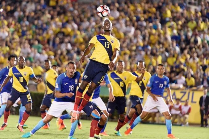 Enner Valencia Ecuador Brazil