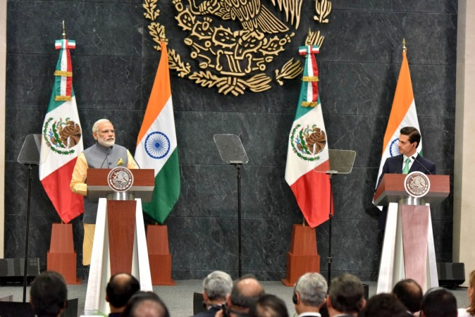Narendra Modi in Mexico