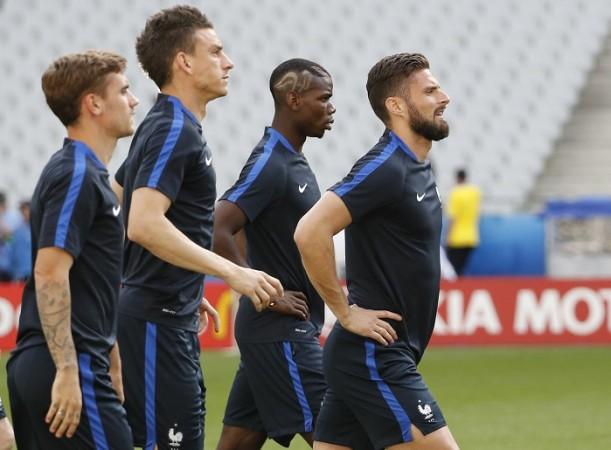Griezmann Koscielny Giroud Pogba France