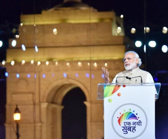 modi government two years modi sarkar india gate celebrations