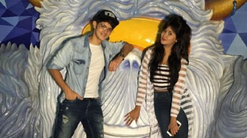 "Rohan Mehra dating Kanchi Singh? Pictured: ""Yeh Rishta Kya Kehlata Hai"" actors Rohan Mehra and Kanchi Singh"