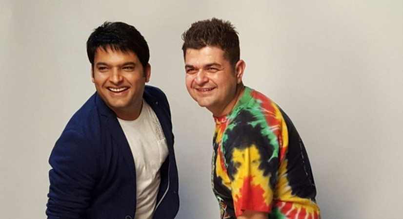 Kapil Sharma and Dabboo Ratnani