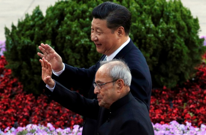 President Pranab Mukherjee in China