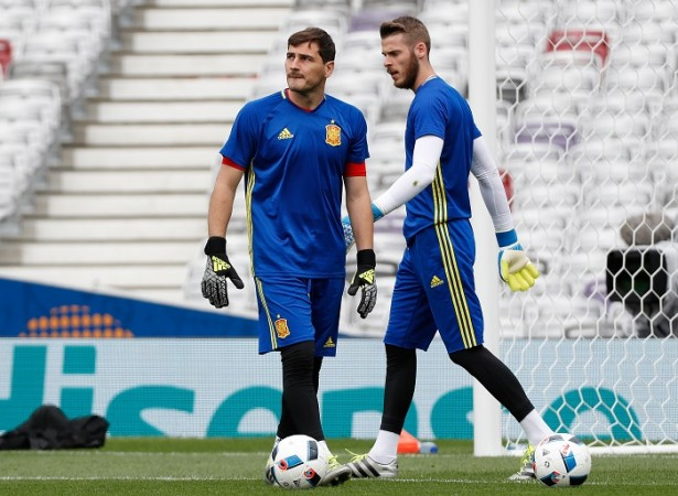 Iker Casillas David De Gea Spain