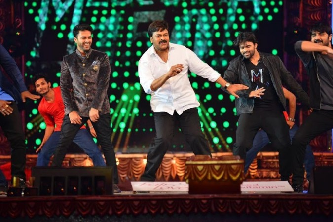 Chiranjeevi perform at Cinemaa Awards 2016