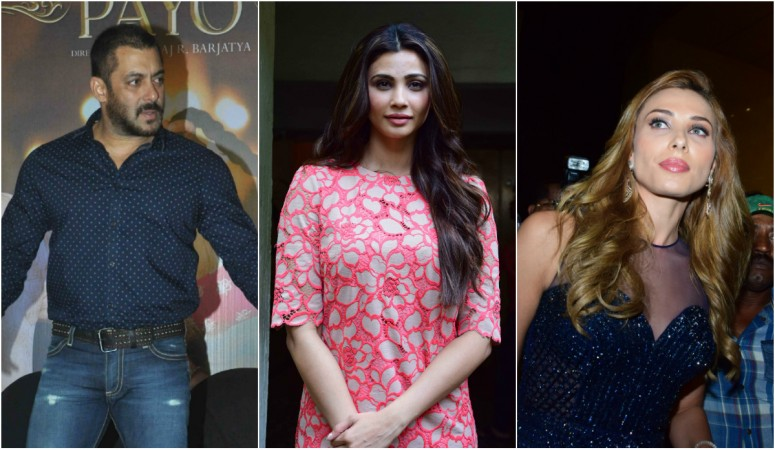 Salman Khan, Daisy Shah, Iulia Vantur