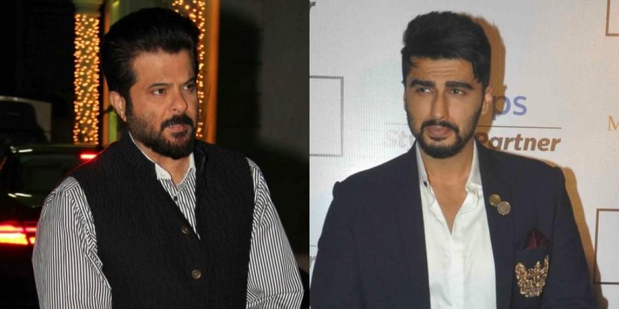 Anil Kapoor and Arjun Kapoor