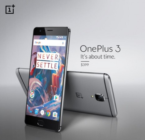 Metal-clad OnePlus 3 with 6GB RAM unveiled; price, specifications
