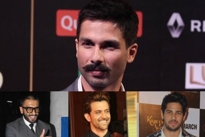 Shahid Kapoor, Ranveer Singh, Hrithik Roshan and Sidharth Malhotra
