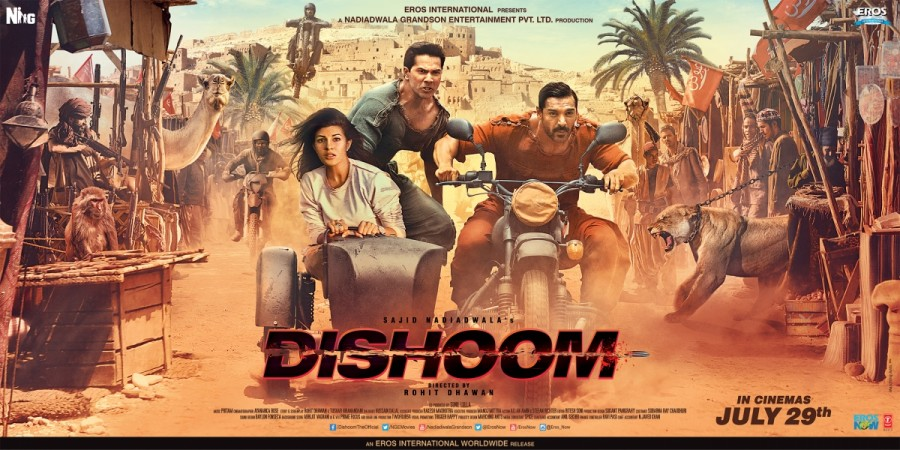 Dishoom Poster
