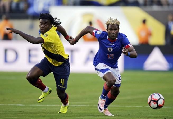 Sony Norde Haiti Juan Carlos Paredes Ecuador