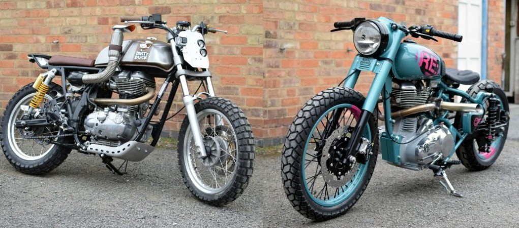 Royal Enfield Mo' Powa' and the Dirty Duck