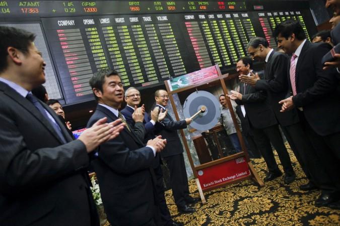 pakistan stock exchange china msci