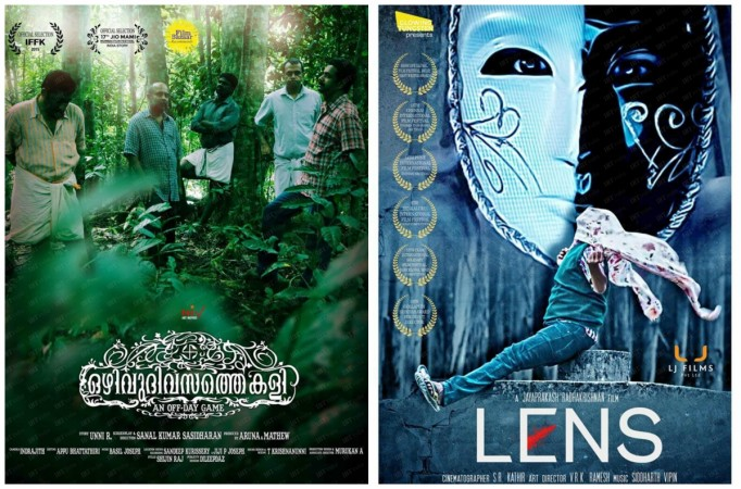 'Ozhivudivasthe Kali' and 'Lens' get support from celebrities