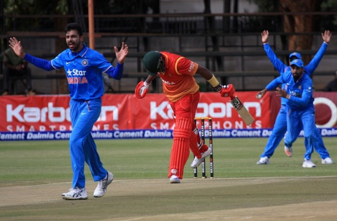 India Zimbabwe ODI series