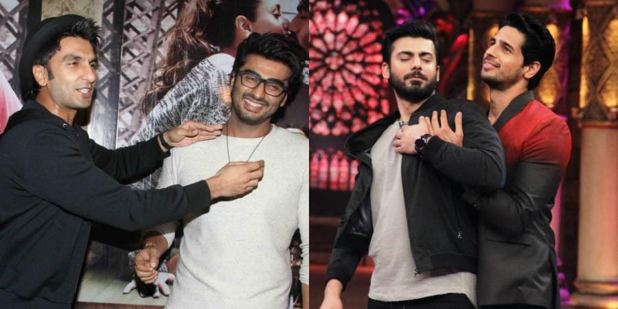 Ranveer Singh, Arjun Kapoor, Fawad Khan and Sidharth Malhotra