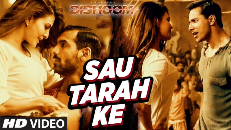 Sau Tarah Ke song from Dishoom
