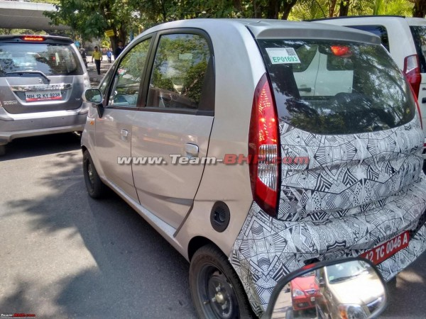 Tata Nano Electric (EV) spotted on test again