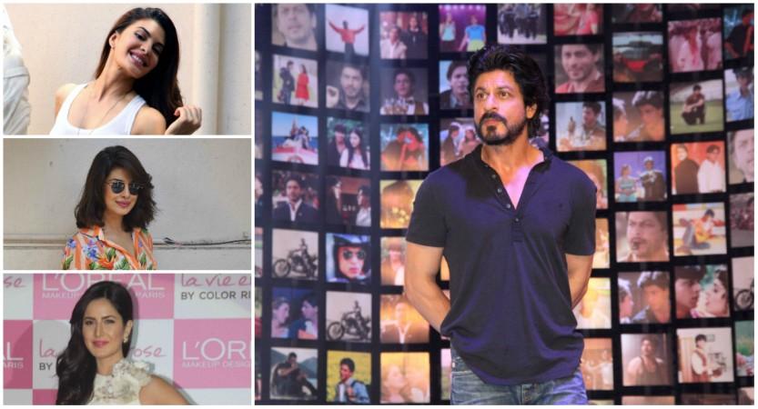 Jacqueline Fernandez, Shah Rukh Khan, Katrina Kaif, Priyanka Chopra