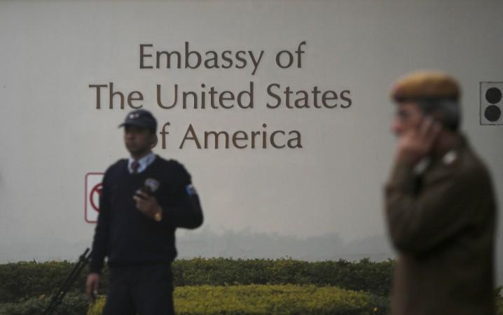 US embassy in India