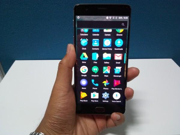 OnePlus 3 First Look: Fingerprint sensor