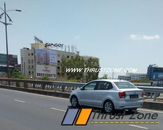 Volkswagen Ameo diesel begins testing in India