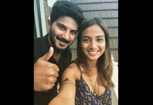 Dulquer Salmaan with Paloma Monnappa