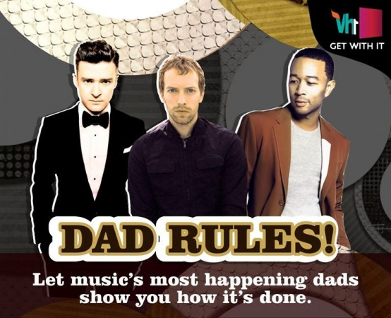Promo poster for VH1 Hottest Dads! event
