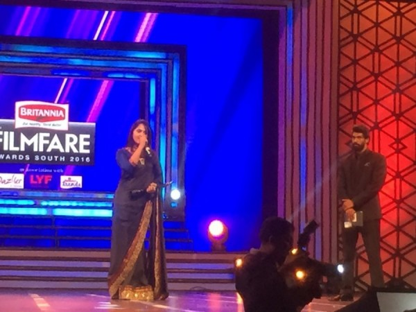 Anushka Shetty at Filmfare Awards