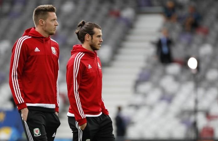 Wayne Hennessey Gareth Bale Wales