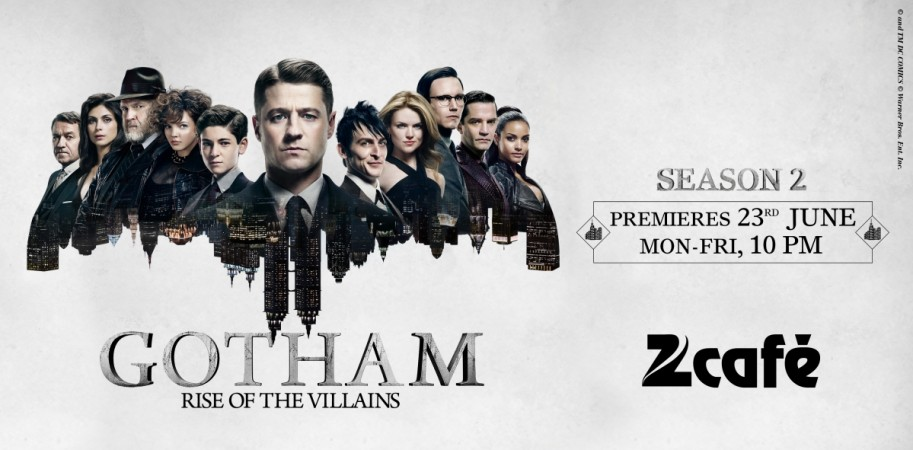"""Gotham"" Season 2 will be aired on Zee Cafe starting Thursday, June 23"