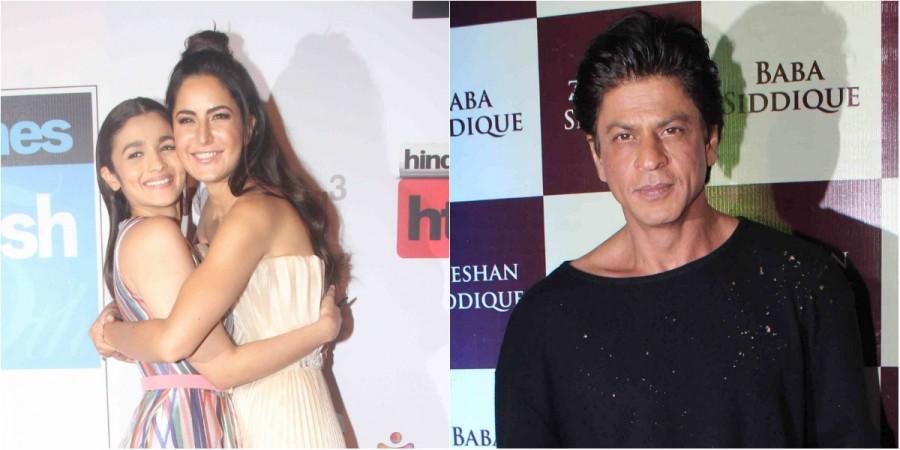 Alia Bhatt, Katrina Kaif and Shah Rukh Khan