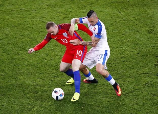 Wayne Rooney Marek Hamsik England Slovakia