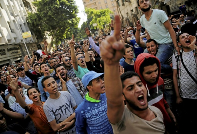 red sea islands protest