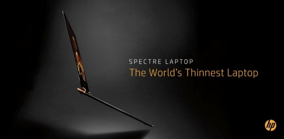 HP launches world's thinnest laptop Spectre 13 series in India; price, specifications