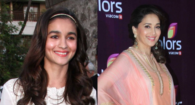 Alia Bhatt and Madhuri Dixit to team up for a film.