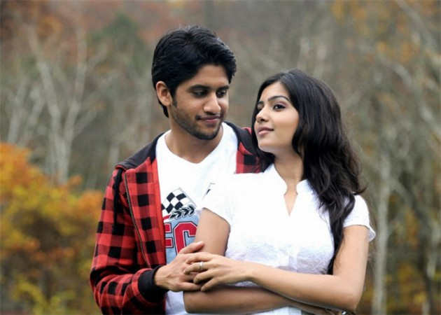 Naga Chaitanya and Samantha in Ye Maaya Chesave