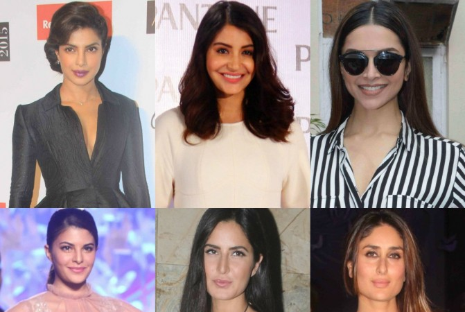 Actresses of Shah Rukh Khan