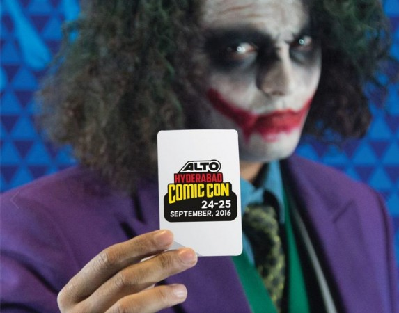 Hyderbad Comic Con will be held in September and the tickets for the event will go on sale in a short while