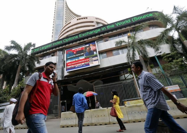 Bombay Stock Exchange building BSE brexit crash