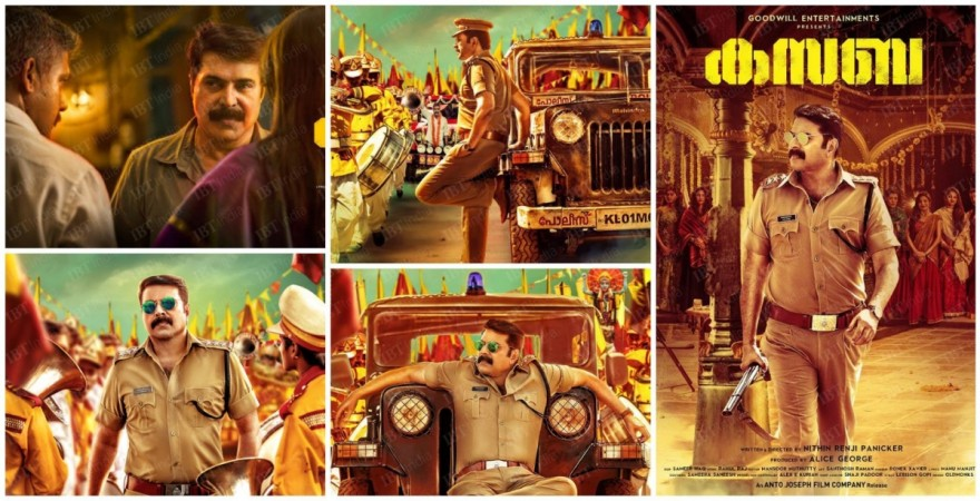 Mammootty's 'Kasaba' teaser is out
