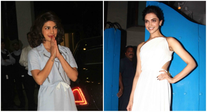 Deepika Padukone refuses to perform with Priyanka Chopra at IIFA Awards 2016? Pictured: Priyanka Chopra, Deepika Padukone