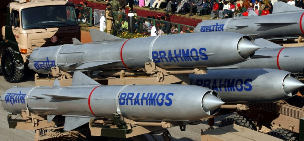 BrahMos supersonic cruise missiles