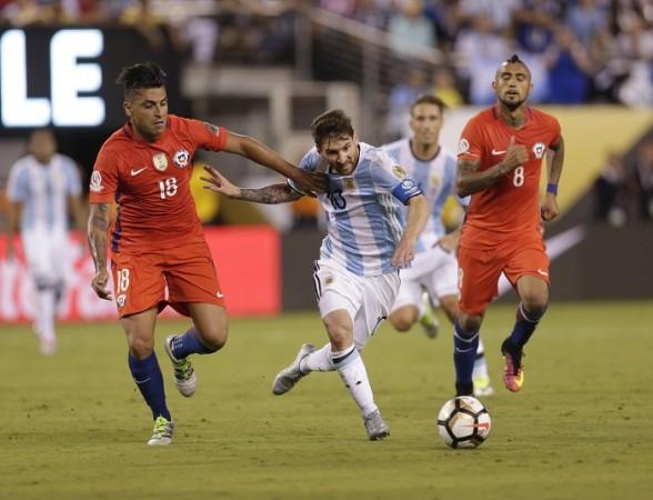 Argentina Messi Chile