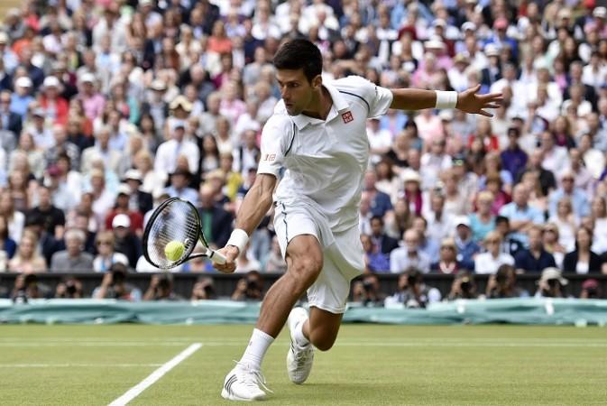 Wimbledon 2015 Novak Djokovic