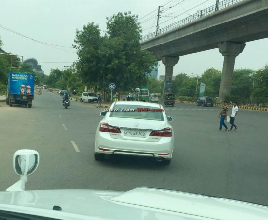 New Honda Accord spotted testing in India