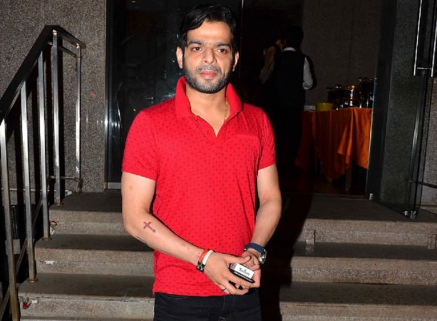 "Jeetendra reprimanded ""Yeh Hai Mohabbatein"" actor Karan Patel for coming late? Pictured: ""Yeh Hai Mohabbatein"" actor Karan Patel at Karanvir Bohra's birthday celebration in Mumbai"